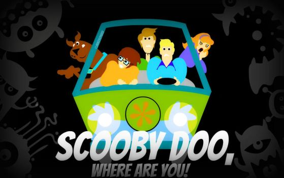 Scooby Doo and his gang by MIKEYCPARISII