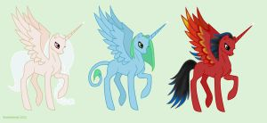 MLP adoptable alicorns - closed by snakehands