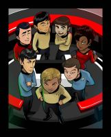 Old School STAR TREK by inneryoung