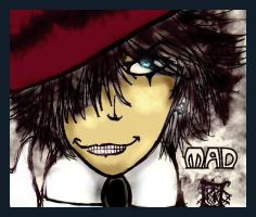Mad Hatter by BlissfulBlue by Alice-fanclub