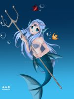 The Trident Mermaid by Kittygur38
