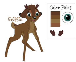 King Griffin: Bambi's Rival by FallenFireFox