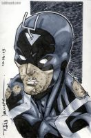 Battle Damaged Black Bolt by ToddNauck