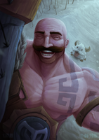 You are safe with Braum.- Braum by kinwii
