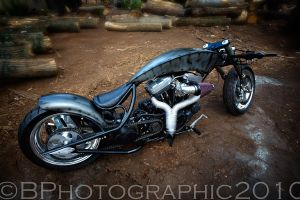 Mike's Bike by BPhotographic