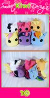 My Little Pony Blob Plush by SweetKiwiDesign