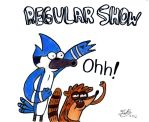 Regular Show!! Colored by MelanieBrown