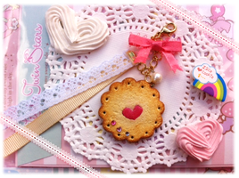 .:+Sweet Lace Cookie charm+:. by youkou-chan