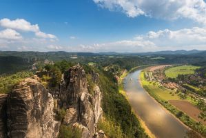 Bastei View by MarcoHeisler