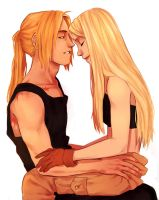 Edward and Winry by Jazzie560