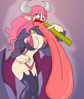 AT: Succubus long tongue. by BYP-Industries