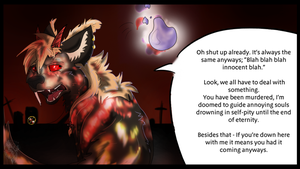 Talking to souls- Cimeterium style. by Blackwolfpaw