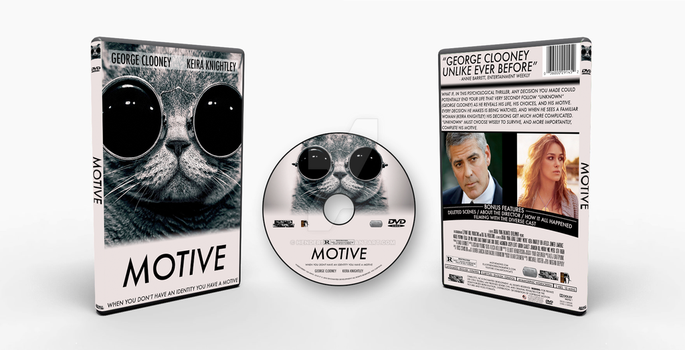 Motive DVD Case by Henderson37
