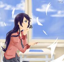 daydreaming by soi-scholla