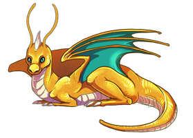 Dragonite by AbelPhee