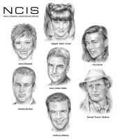 NCIS Team by gregchapin