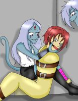 Alex Meets Kir and Jir by CathyMouse2010