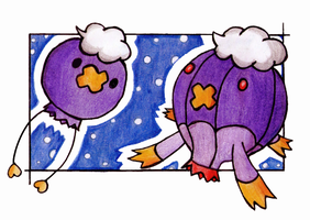 Drifloon and Drifblim.