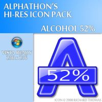 Alcohol 52 Icon by Alphathon