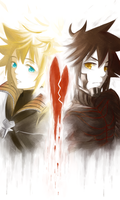KH: The Two Halves by KENZICHII