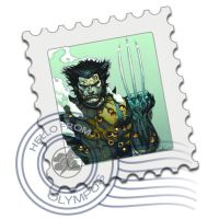 wolverine mail stamp by screaM4Dolls