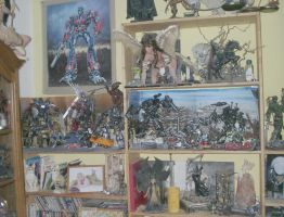 transformers corner of joy :-) by Catskind