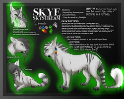 Official Skye reff sheet (Outdated) by Onalew