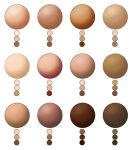 DRS Skin Colour Swatches by DeathRattleSnake