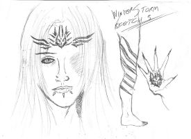 Winter Storm Sketch 3 by stormthor