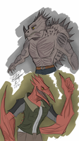 *Request* Anthro Rodan and Anguirus by createandshow0407