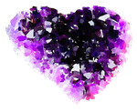 FREE-heart-shaped-geode-watercolor-png by anjelakbm