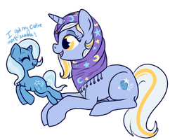 Blue Moon and Trixie by lulubellct