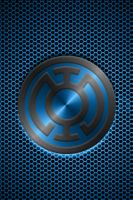 Metalic Blue Lantern by KalEl7
