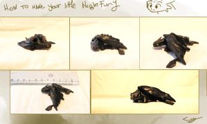 Toothless model by Ticcy