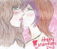 Sabriels kiss by Maivory