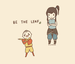 BE THE LEAF by pikarar