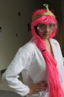 Scientist Princess Bubblegum Photo Shoot--Close Up by CostumePartyCosplay