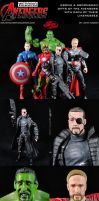Avengers (Wedding Gifts w/ Friends' Likenesses) by MintConditionStudios