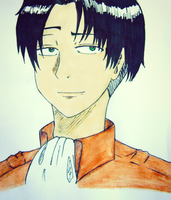 Rivaille smile by geriwiri