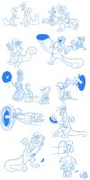 Goldie and Shipley TF sequence by Betsy by crazyyellowfox