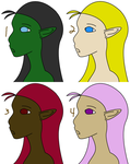Choose-your-species Headshot Adopts p4 OPEN by CassidyPeterson