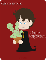 HP Cards- Neville by Hyuknice