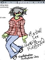 Practice on Marshall Lee by DarkHallows1000