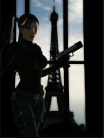 Lara_Croft_Paris by ivedada
