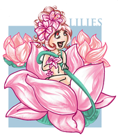 Lily Girl - collab by Yaraffinity