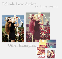 Belinda Love Action by benlovesyou