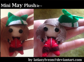 Mini May Plushie~ by Latiasylveon