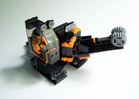 LEGO mine excavator by Bobofrutx