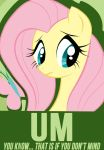 Fluttershy Poster by Chingilin