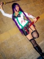 Saeko Busujima katana by dashcosplay